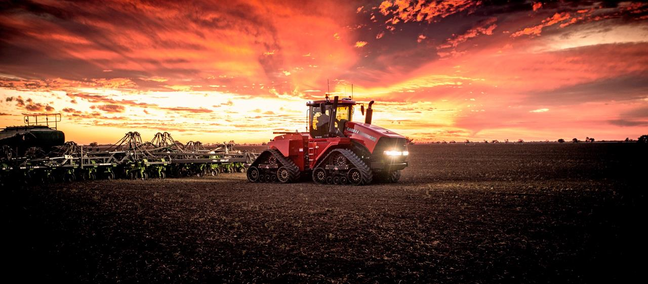 AgQuip the launch pad for new and improved Case IH Steiger